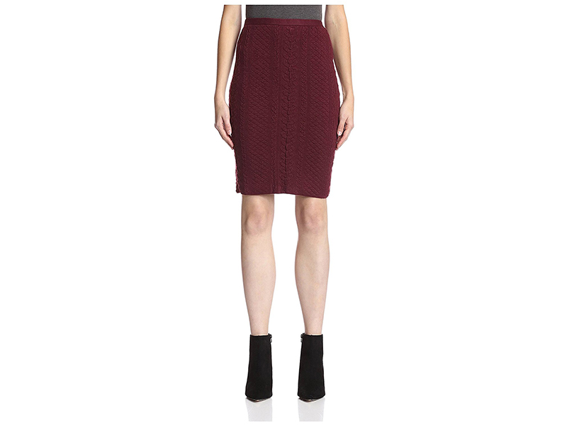 Natori Knit Pencil Skirt