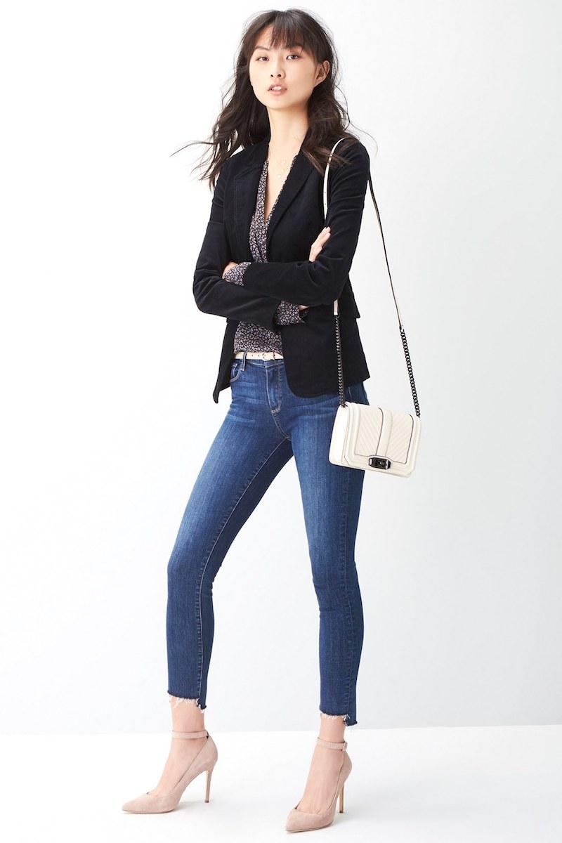 PAIGE Legacy - Verdugo Step Hem Skinny Jeans