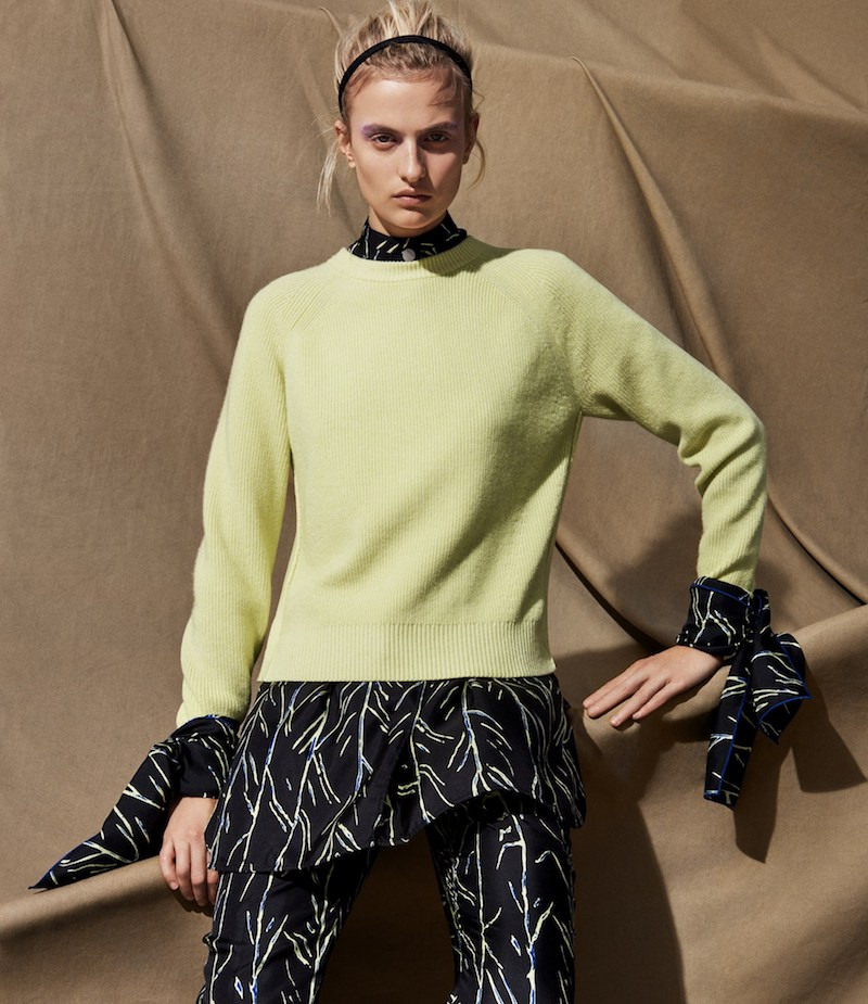Proenza Schouler Cashmere-Blend Cardigan Sweater