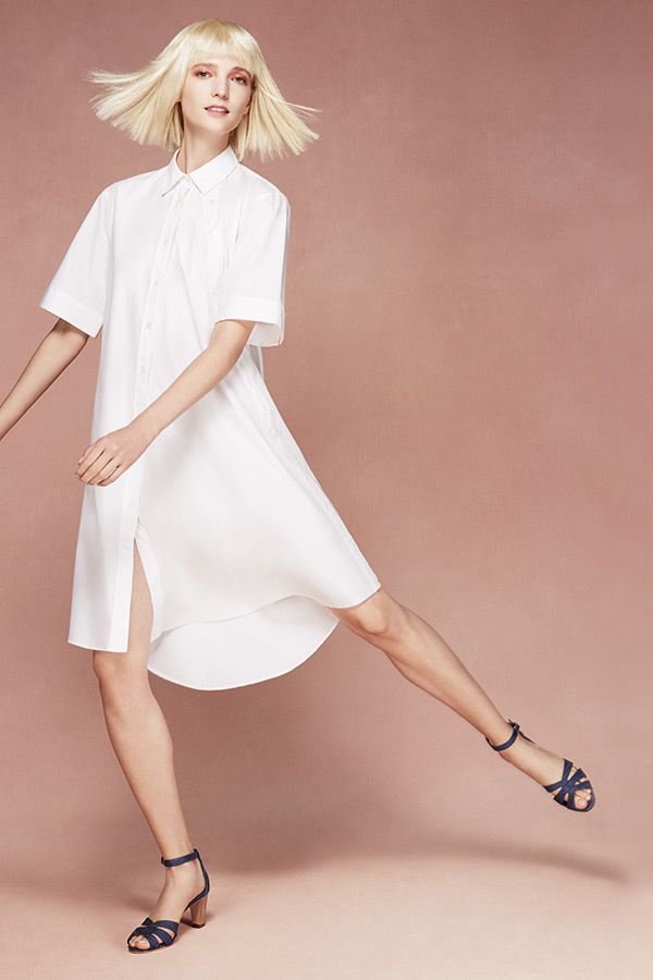 Public School Mara Cotton Shirtdress