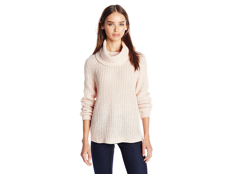 RD Style Turtleneck Pullover Sweater