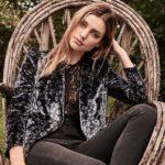 Rebecca Taylor Liane Velvet Blazer
