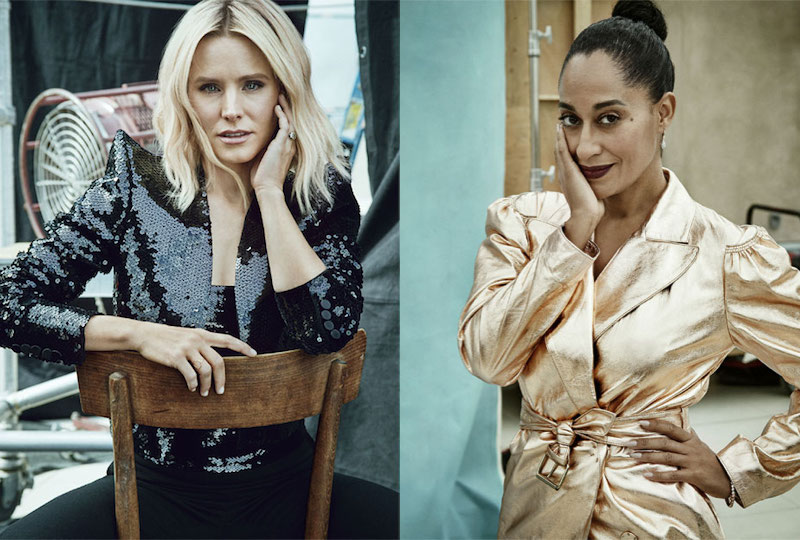 Screen Queens Cynthia Nixon, Tracee Ellis Ross, Kristen Bell & Michelle Monaghan for The EDIT
