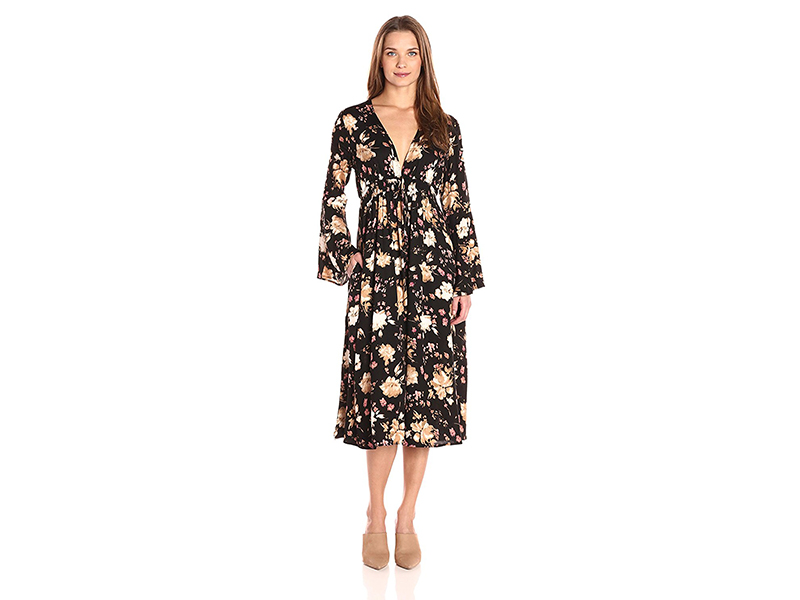 Somedays Lovin Dierdre Floral Print Midi Dress