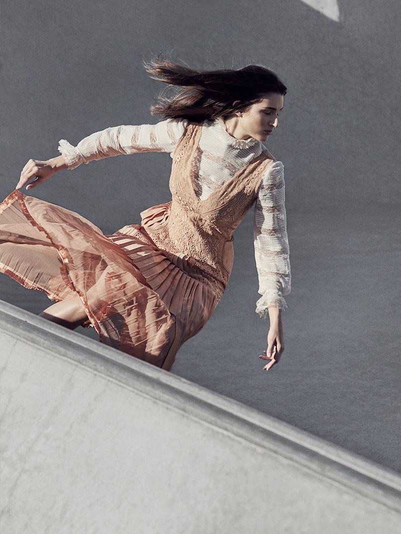 Stella McCartney Sable Satin Dress