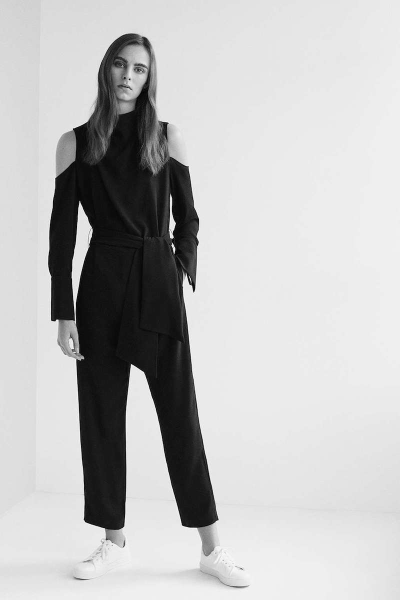 Topshop Boutique Deep Cuff Jumpsuit
