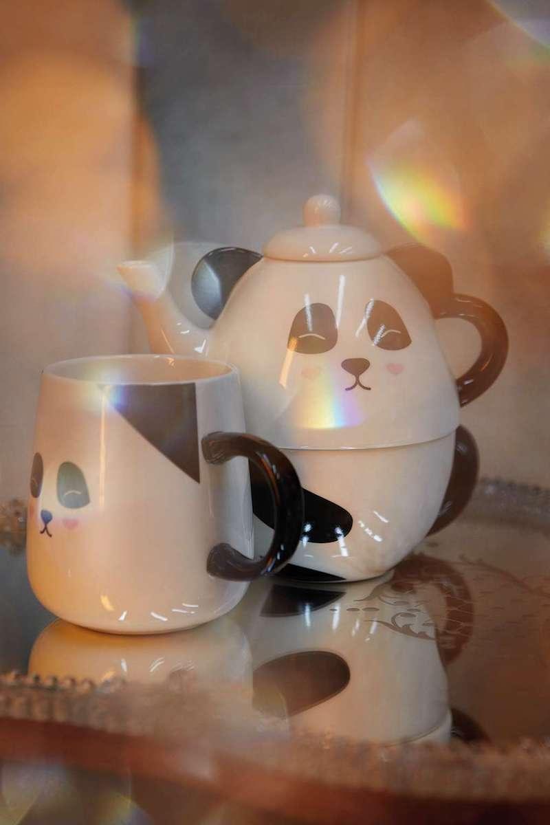 Topshop Panda Tea For One Set