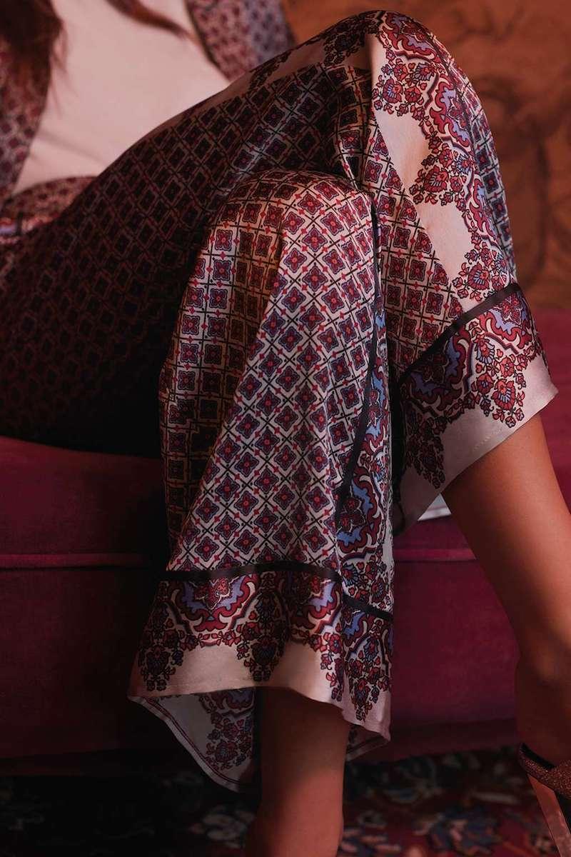 Topshop Tile Print Pyjama Set
