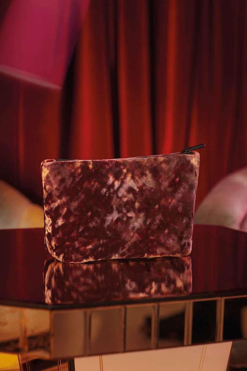 Topshop Velvet Make-Up Bag