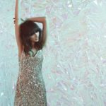 Walk of Shame Christmas silk-blend sequin slip dress-
