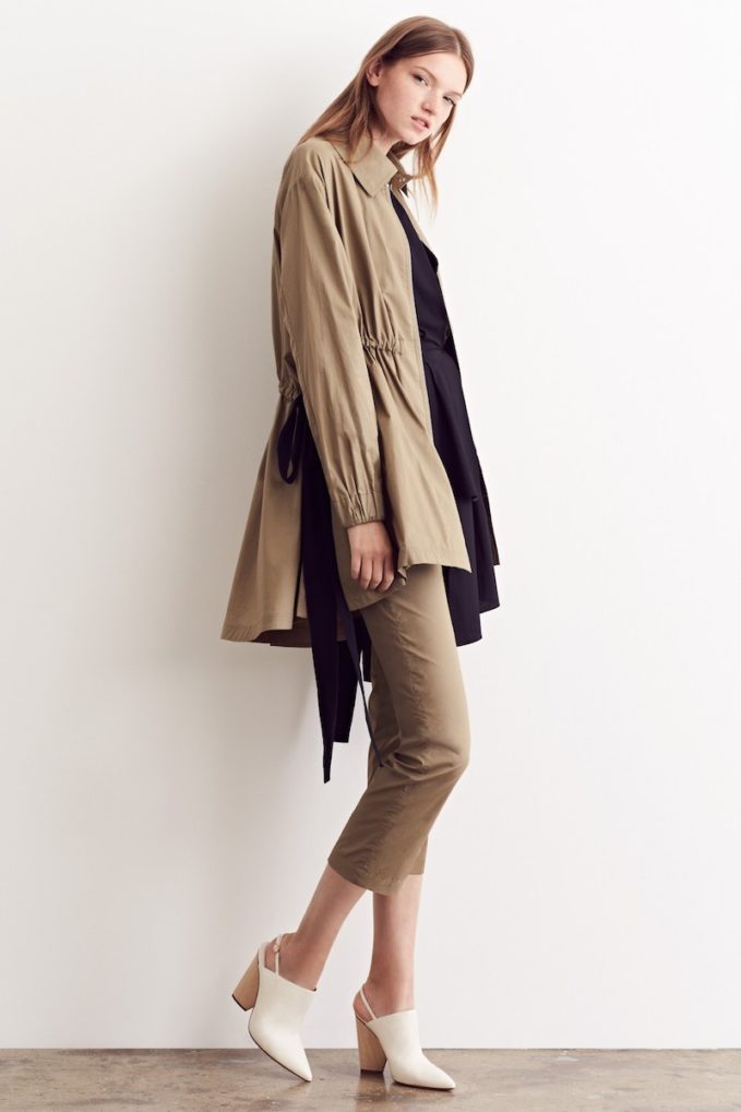 Adam Lippes Drawstring Cotton Anorak