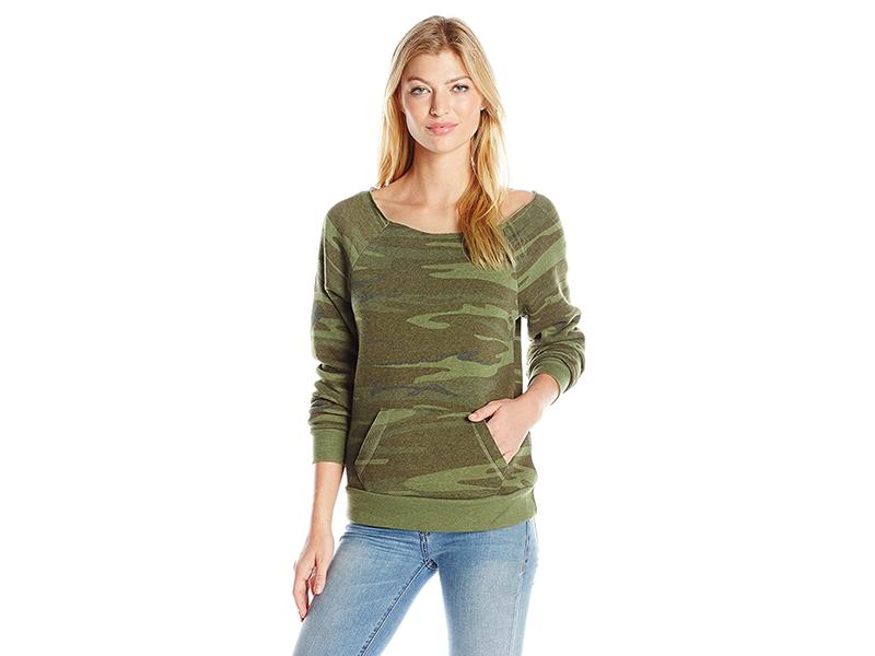 Alternative Maniac Printed Eco-Fleece Sweatshirt