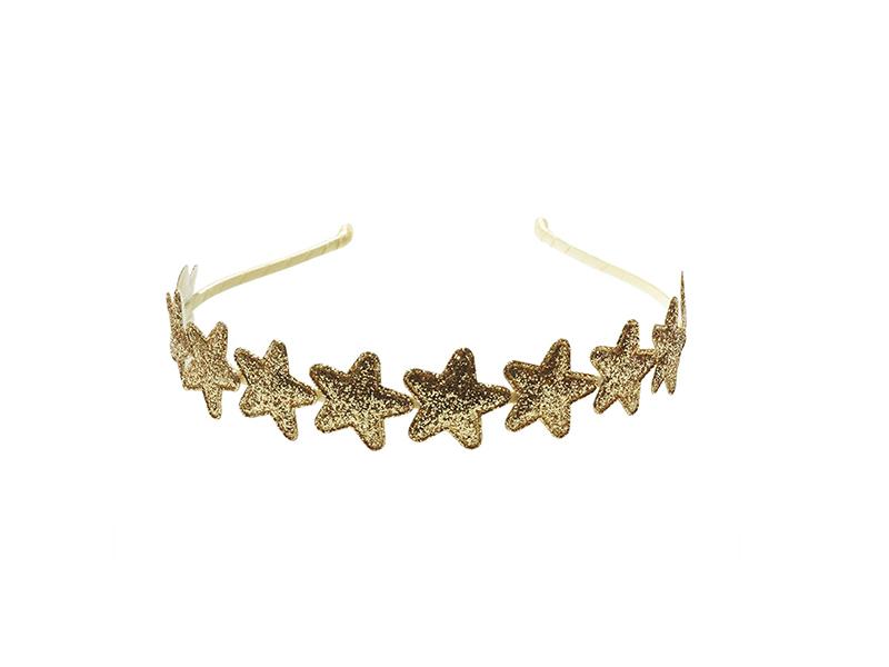 Anna Belen Girls' Jordan Glitter Stars Headband