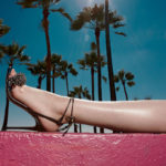Aquazzura Monaco Beaded 105mm Sandal 1