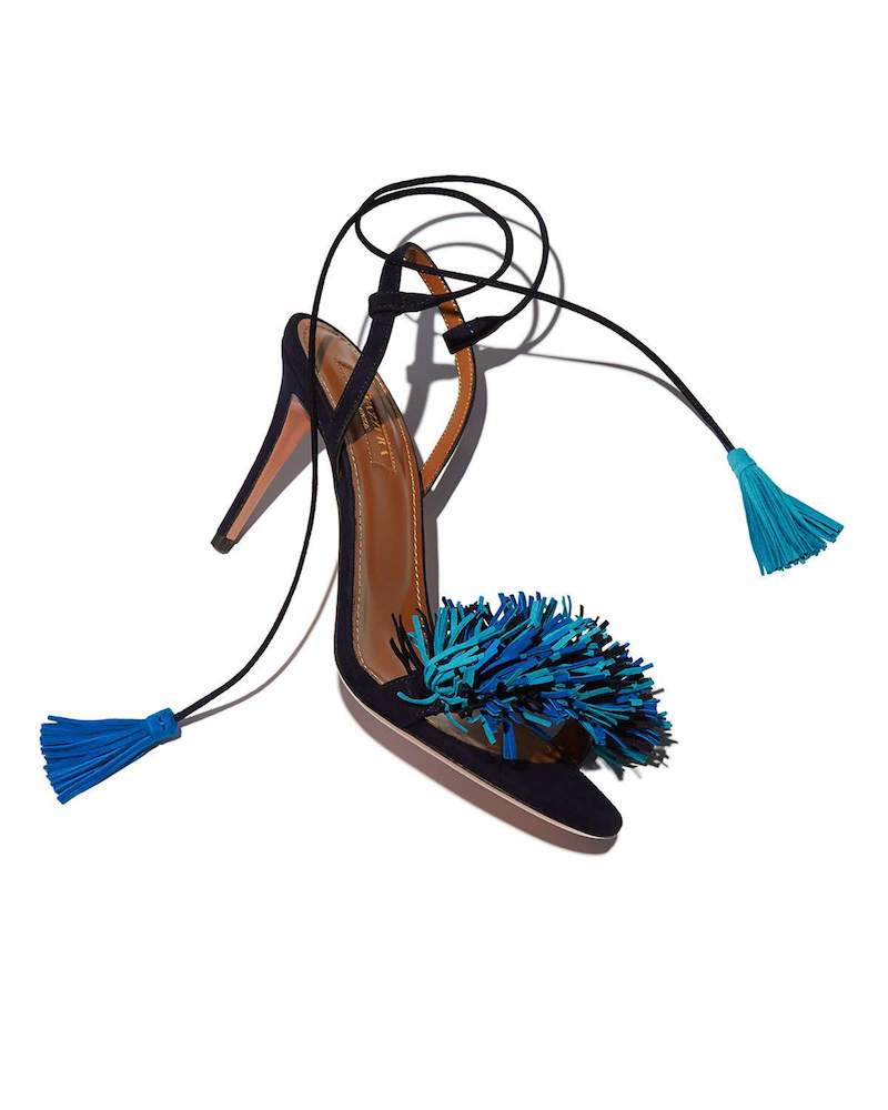 Aquazzura Wild Thing Suede 85mm Sandal