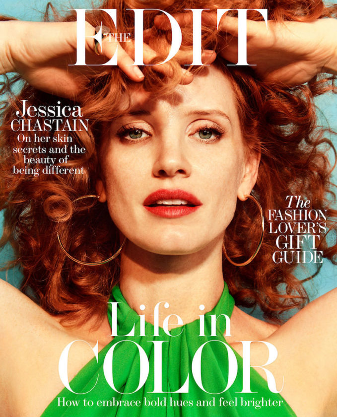 Bold Choices: Jessica Chastain for The EDIT