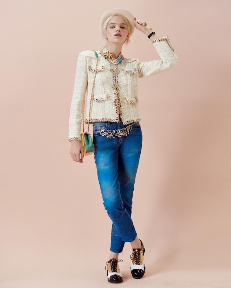 Chanel Crochet-trim Jacket