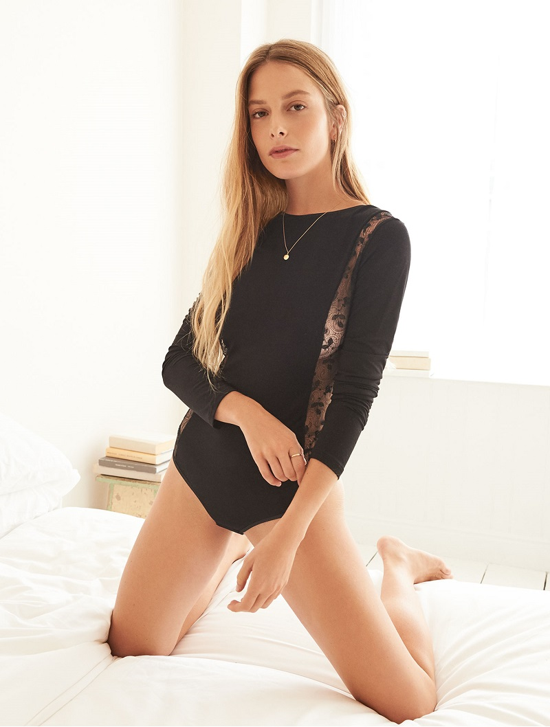 Cosabella Ritz Long Sleeve Teddy