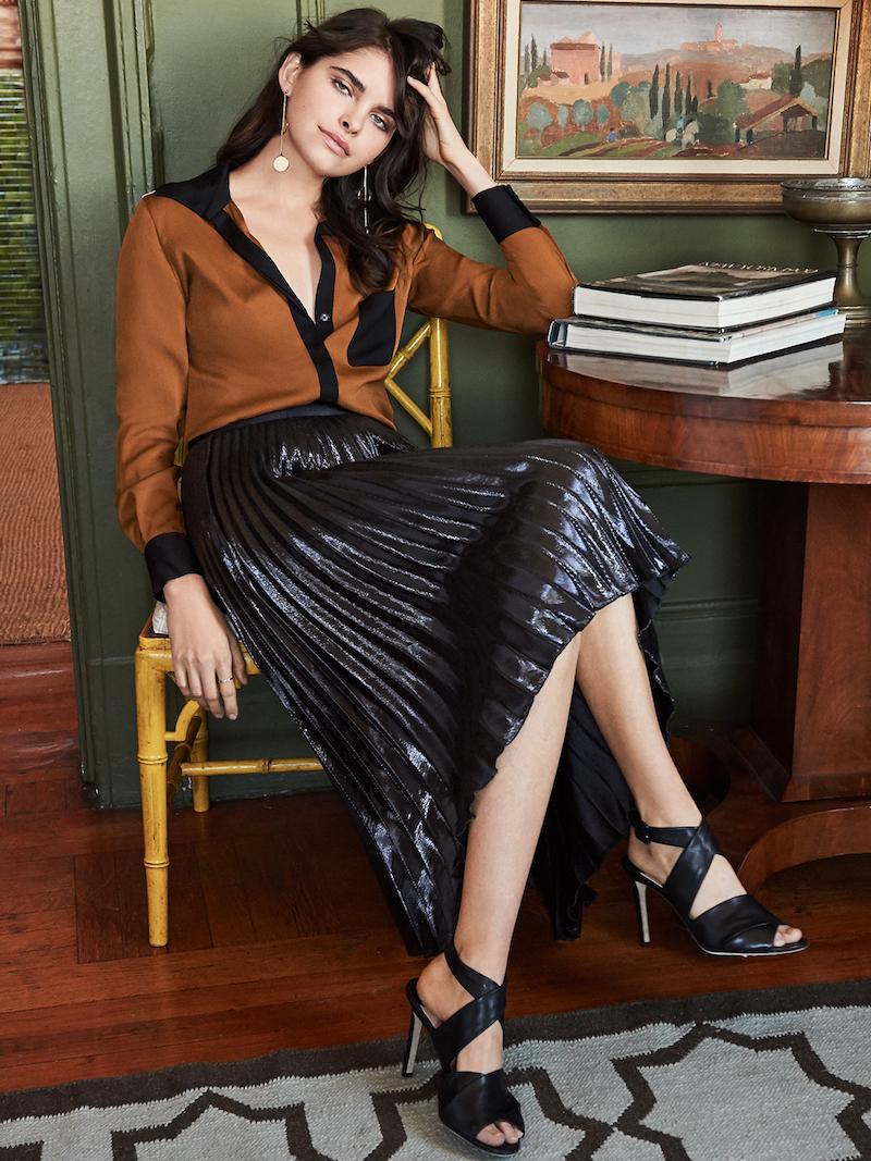 Diane von Furstenberg Carter Silk Blouse