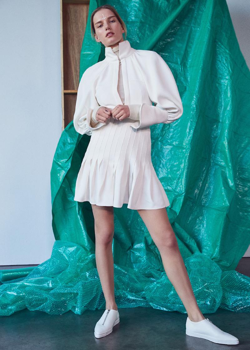 Ellery Butler Voluminous Sleeve Dress