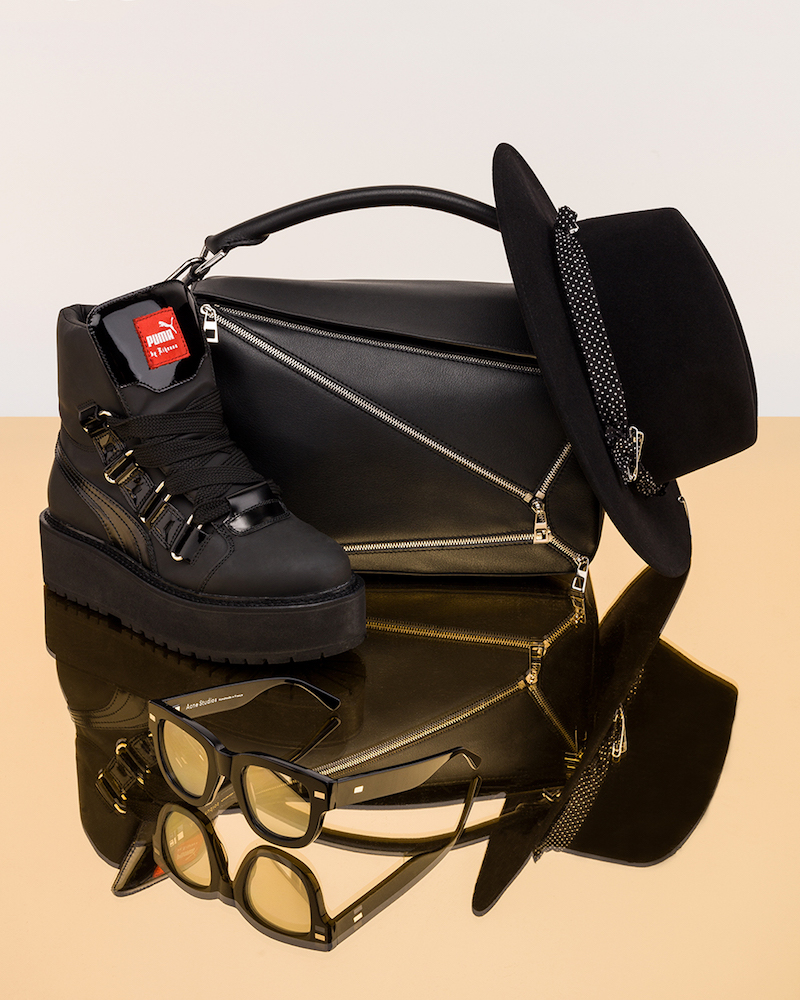 Fenty by Puma Leather Sneaker Boots