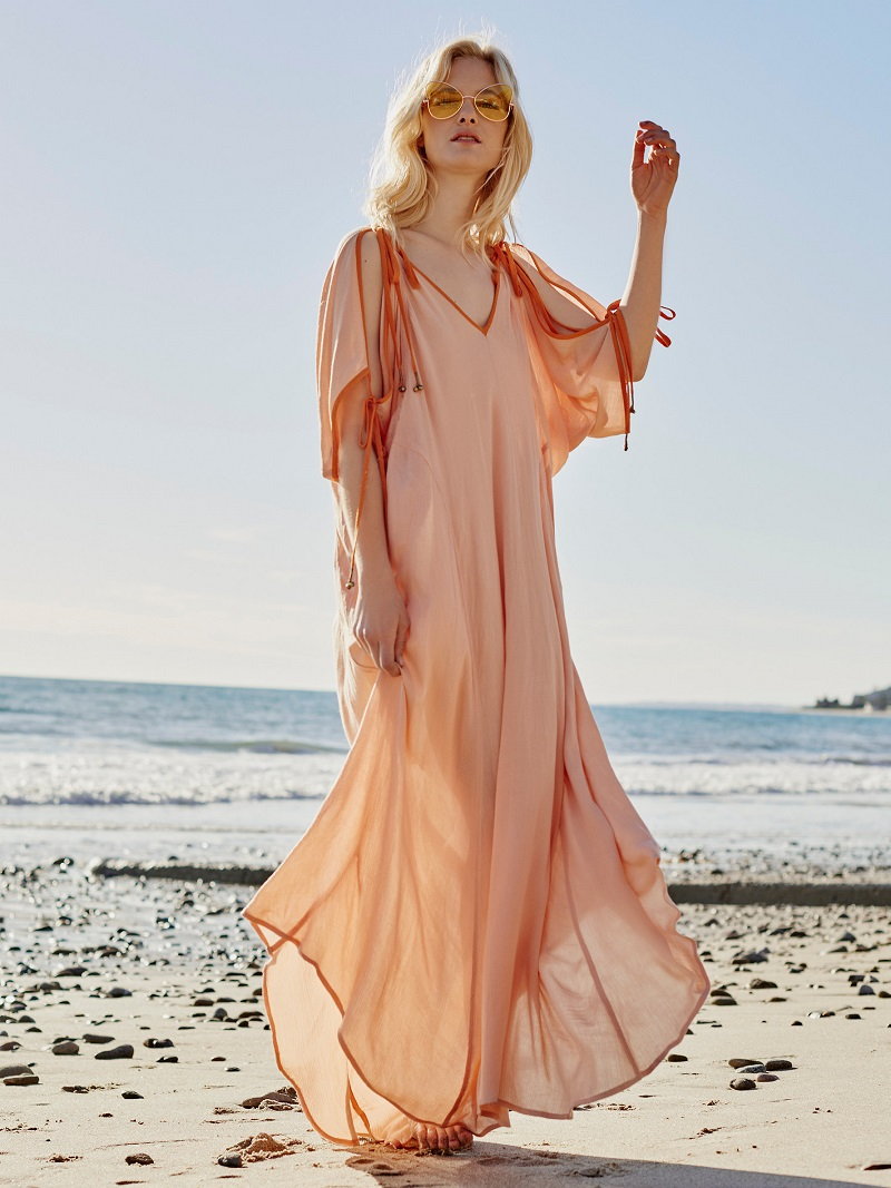 Free People Easy Morning Maxi Dress