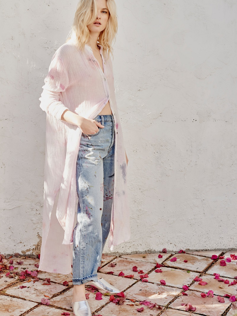 Free People Happiest Morning Buttondown