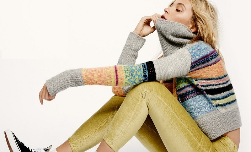 Free People This And That Stripe Sweater-