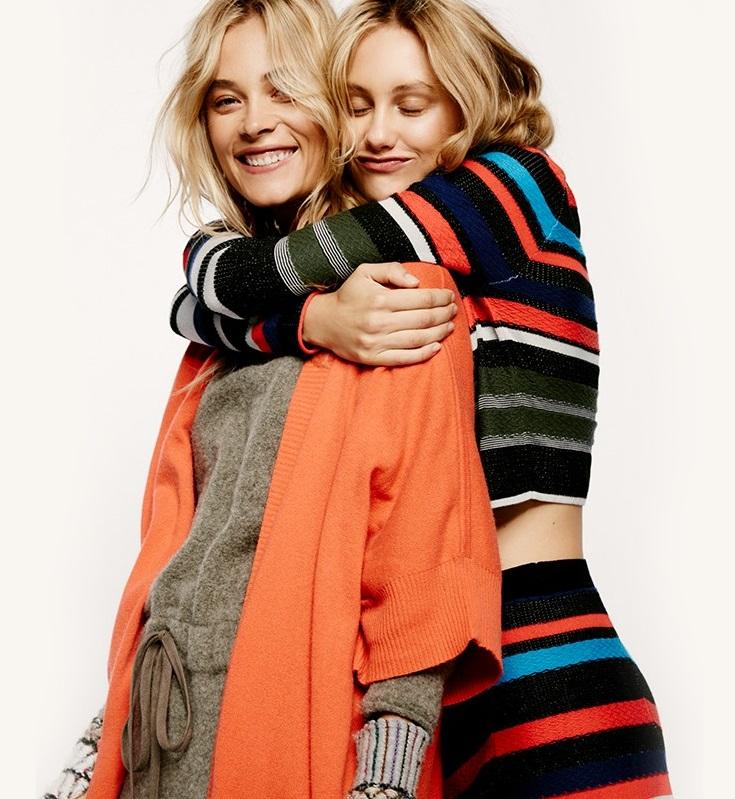 Free People What A Flirt Sweater Set-