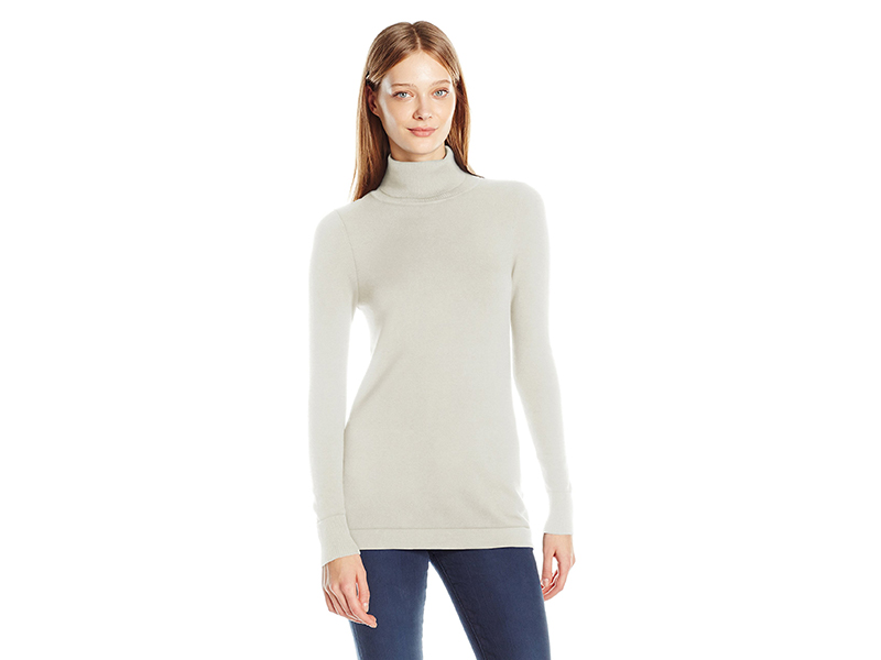French Connection Bambi Solid Turtleneck
