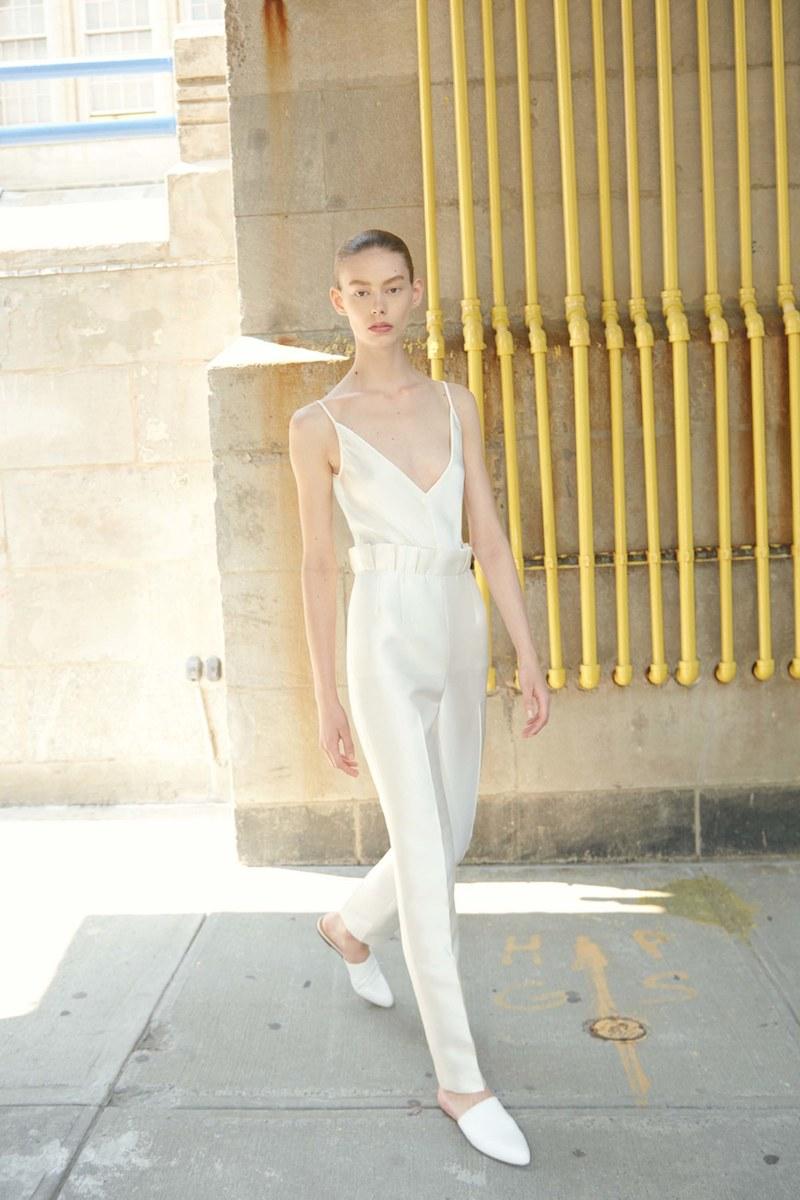 Gabriela Hearst Margarete Slim-Leg Silk and Wool-Blend Trousers