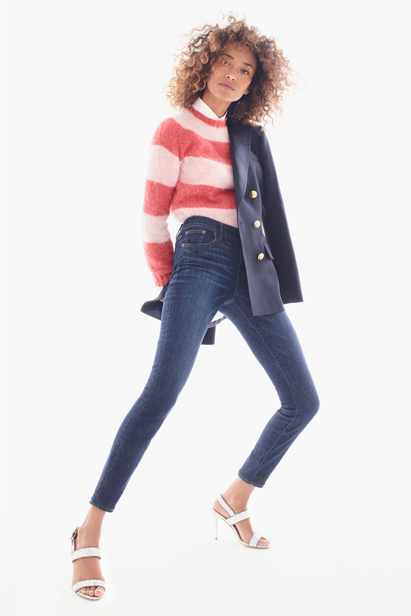 Harley Of Scotland for J.Crew Striped Sweater