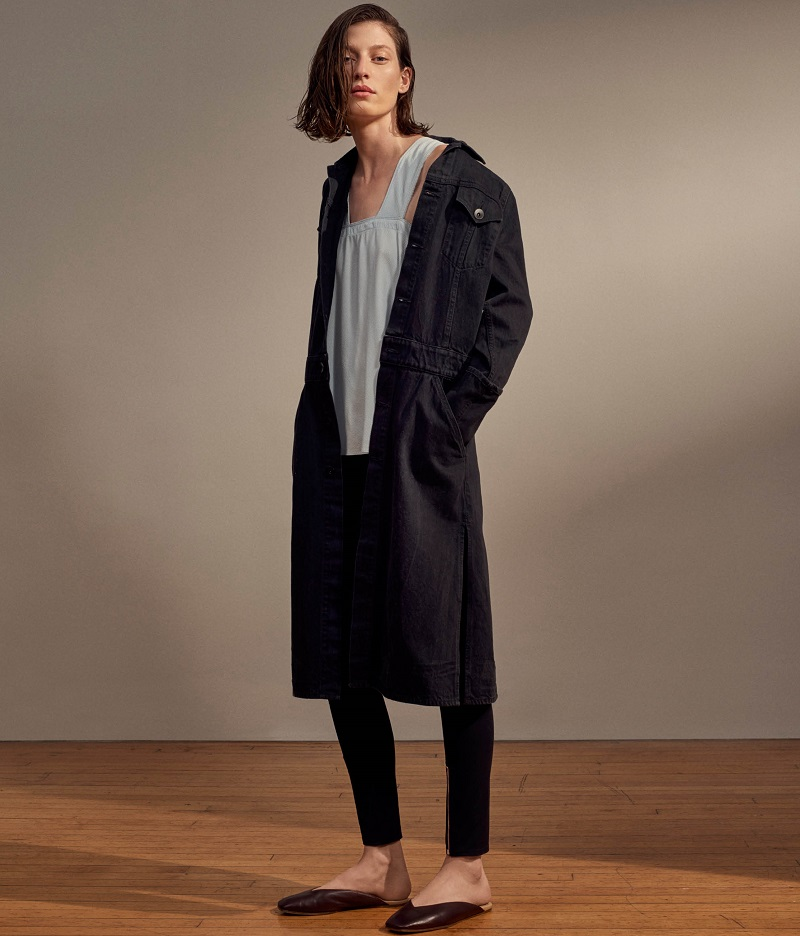 Helmut Lang Trucker Jacket Trench Coat