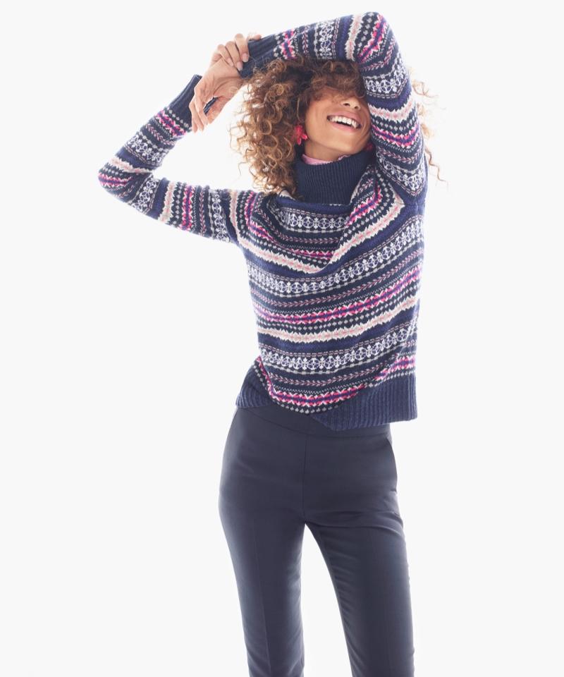 J.Crew Fair Isle Turtleneck Sweater