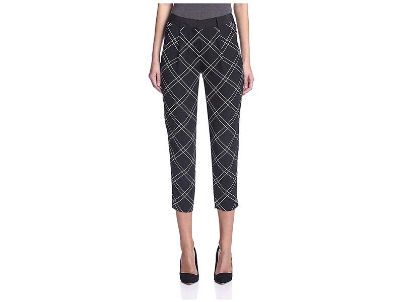 Karen Millen Check Trouser
