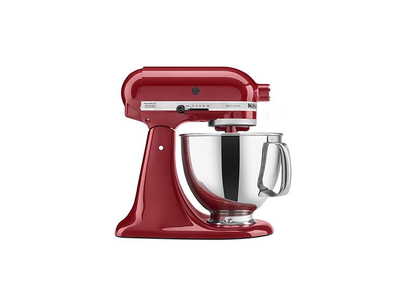 KitchenAid KSM150PSER Artisan Tilt-Head Stand Mixer with Pouring Shield