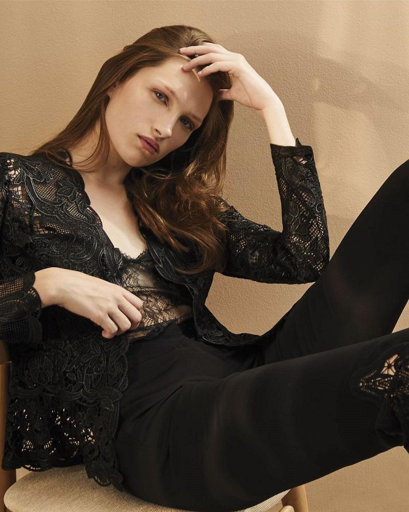 Kobi Halperin Miranda Tailored Lace Jacket