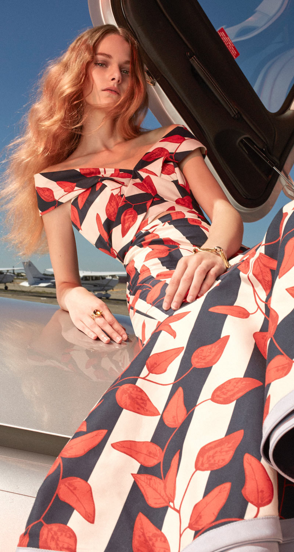 M'O Exclusive Johanna Ortiz Victoria Island Midi Dress