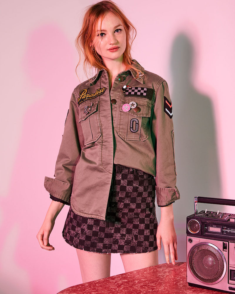Marc Jacobs Padded Military Shirt