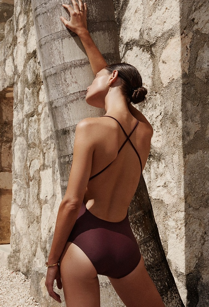 Matteau The Cross Back swimsuit