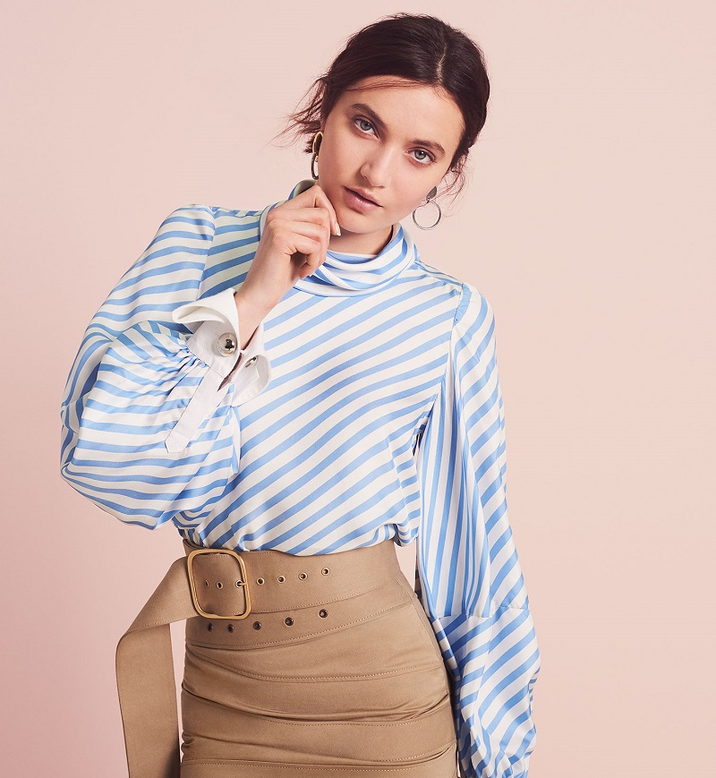 Monse Striped Blouse