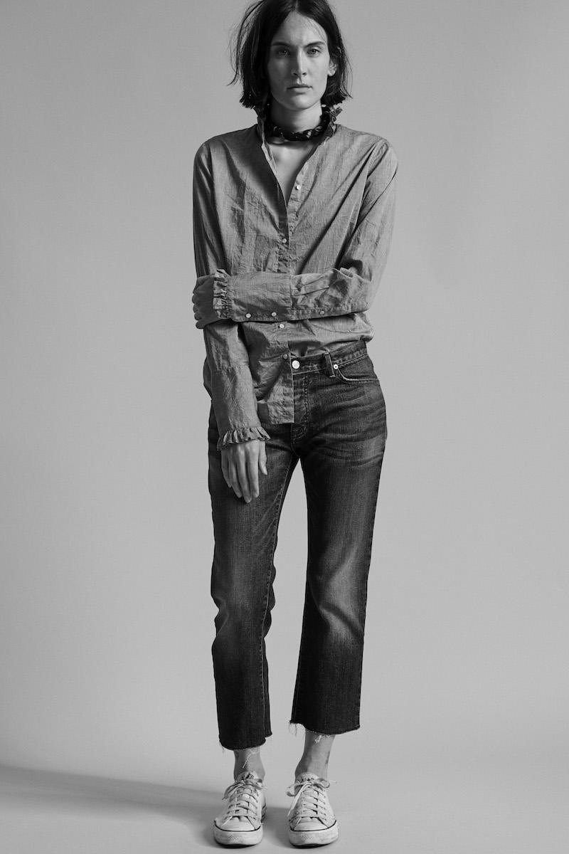 Nili Lotan Tribeca Boyfriend Jeans