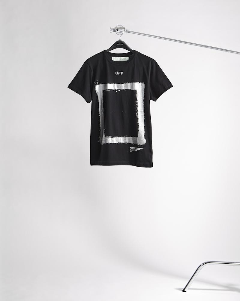Off-White c/o Virgil Abloh XO Barneys New York Frame Of Mind Cotton T-Shirt