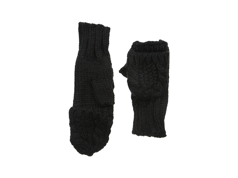 RAMPAGE Cable Knit Pop Top Glove