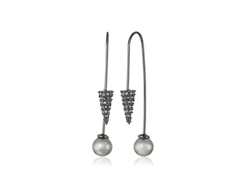 Rebecca Minkoff Cone Hardwire Threader Earrings