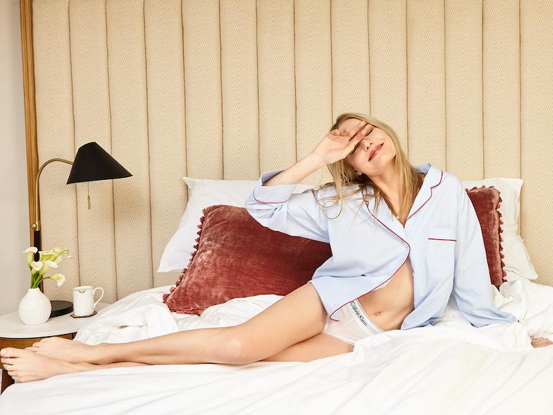 Sleepy Jones End on End Marina Pajama Shirt