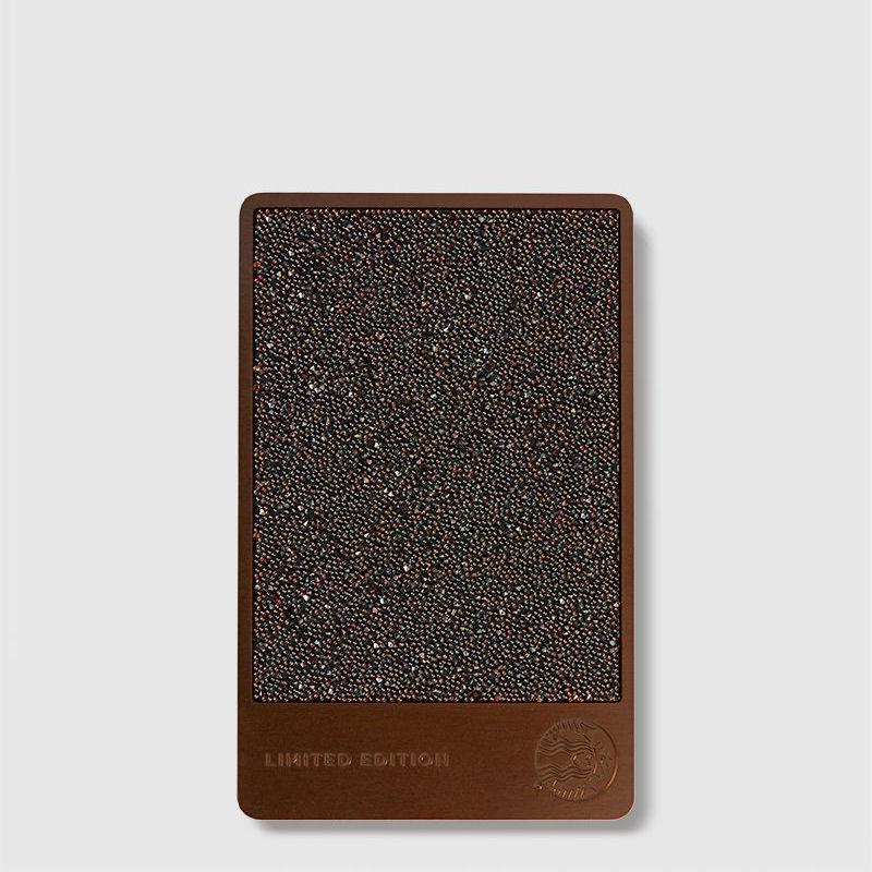 Starbucks Card adorned with Swarovski crystals