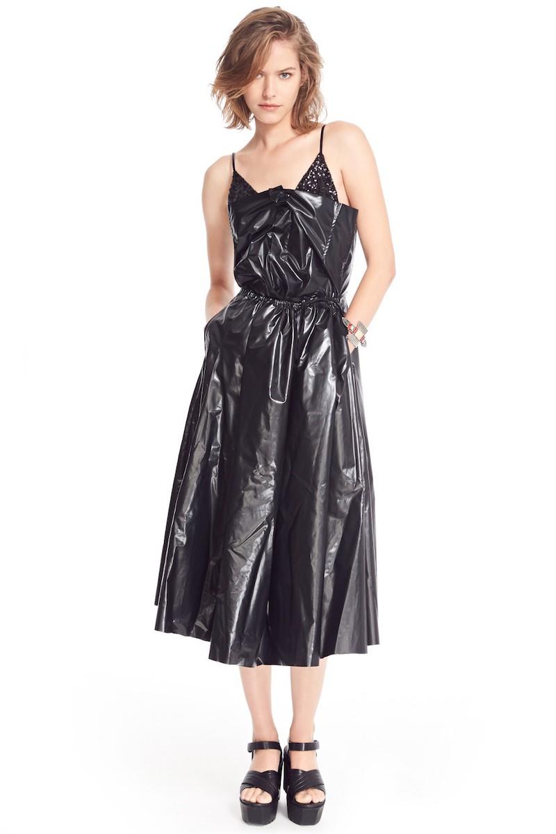 TOGA Laminated Faux Leather Dress