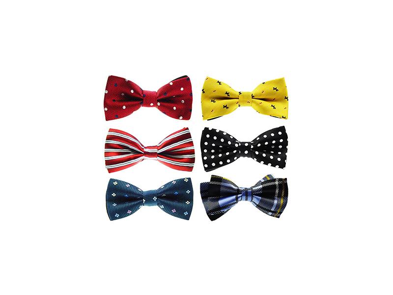 Tiger Mama 6in1 Adjustable Boys Bow Tie Collection