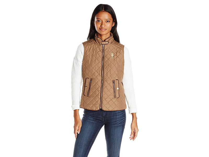 U.S. Polo Assn. Quilted Fashion Vest